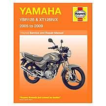 image of Haynes Manual - Yamaha YBR125 & XT125RX