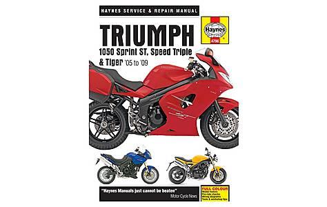 image of Haynes Manual - Triumph 1050 Sprint  ST,  Speed Triple & Tiger