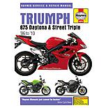 Haynes Manual - Triumph 675 Daytona & Street Triple