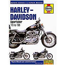 image of Haynes Manual Harley Davidson Sportsters 1970 to 2008