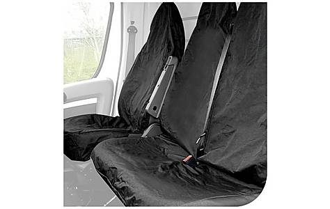 image of Halfords Van Seat Protector 'Front Set'