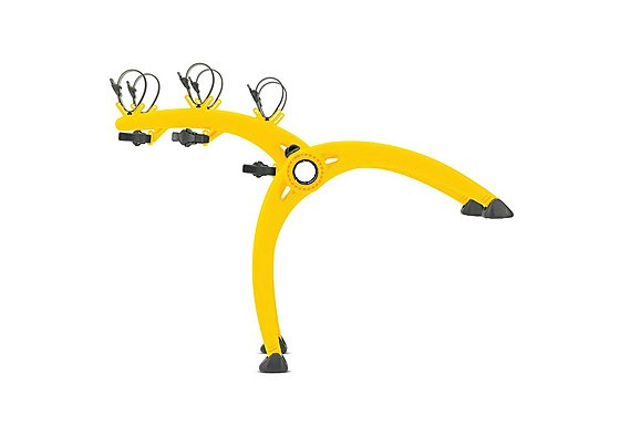 Saris Bones Yellow 3 Bike Rear Cycle Carrier