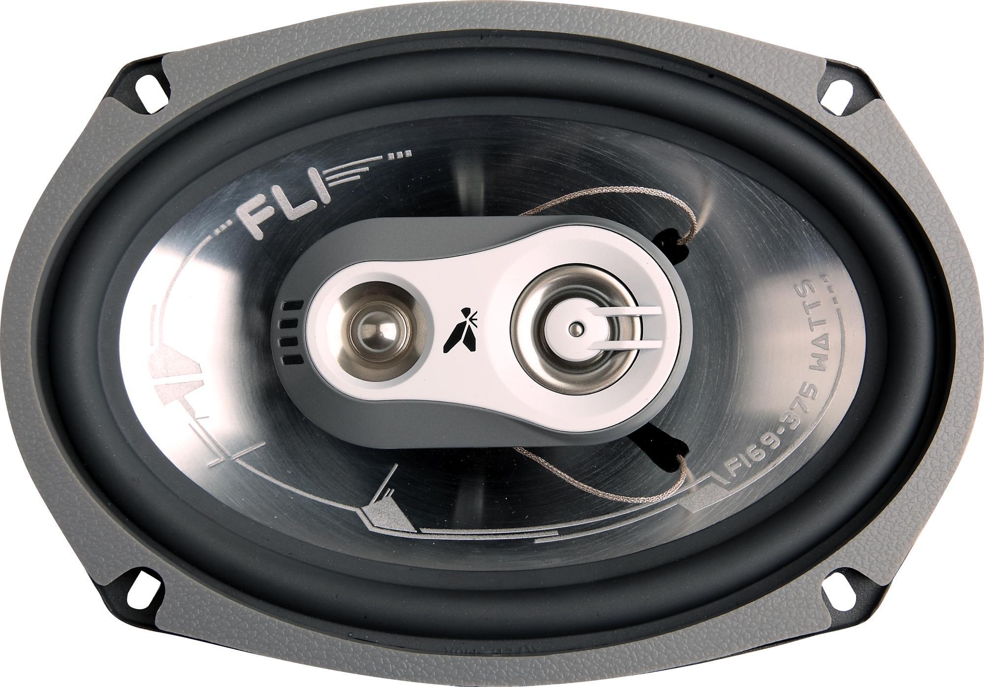 speakers car. fli fi69 6x9\u0026#034; 3 way coaxial car speakers