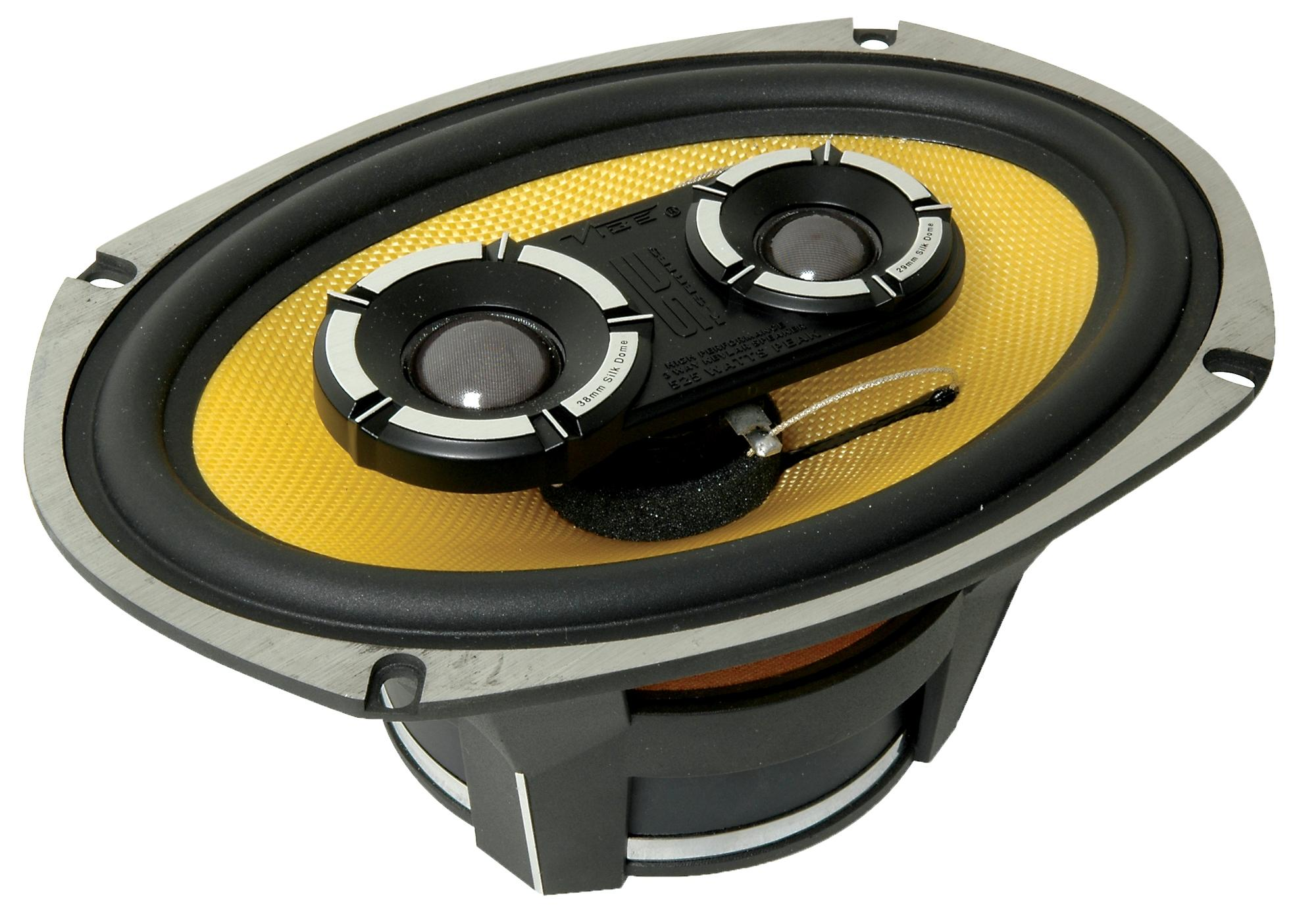 speakers car. vibe blackair69 6x9\u0026#034; 3 way car coaxial speakers n