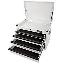 image of Halfords Industrial 4 Drawer Tool Chest
