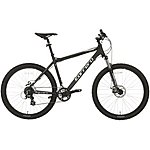 "image of Carrera Vengeance Mens Mountain Bike - Black - 20"", 22"" Frames"