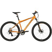 "image of Carrera Vengeance Mens Mountain Bike - Orange - 20"", 22"" Frames"