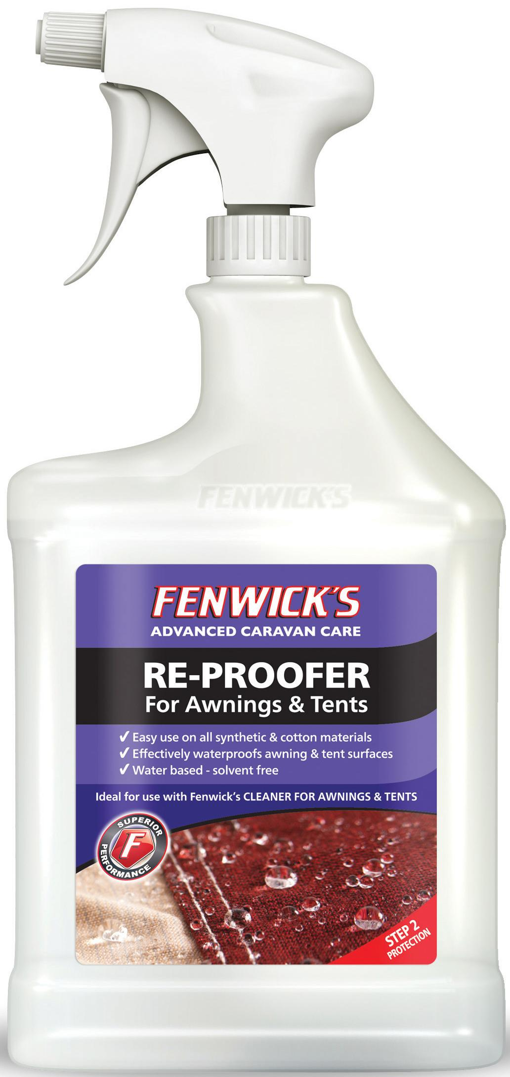 Fenwicks 1 Litre Awning Re-Proofer lowest price