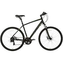 image of Carrera Crossfire 2 Mens Hybrid Bike - Black