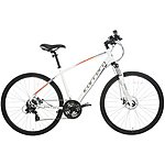 image of Carrera Crossfire 2 Mens Hybrid Bike - White