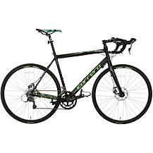 image of Carrera Vanquish Disc Mens Road Bike - Black - 51, 54cm Frames