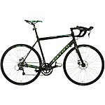 image of Carrera Vanquish Disc Mens Road Bike - Black