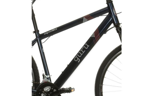 Apollo Guru Mens Hybrid Bike 18