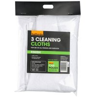 Halfords Cleaning Cloths x 3