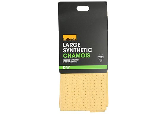 Halfords Synthetic Chamois - Large