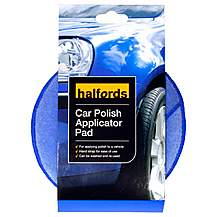 image of Halfords Car Polish Applicator Pad