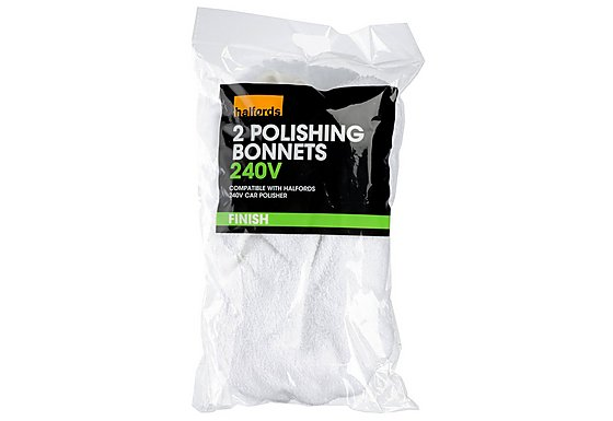Halfords Polishing Bonnets 240V
