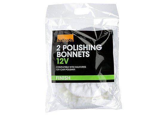 Halfords Polishing Bonnets 12V
