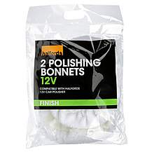 image of Halfords Polishing Bonnets 12V