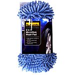 image of Halfords 2 in 1 Microfibre Wash Pad