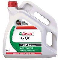 Castrol GTX 15W40 Oil 4 Litre