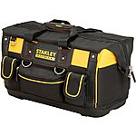 "image of Stanley FatMax 18"" Open Mouth Rigid Tool Bag"