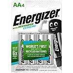 image of Energizer Rechargeable Extreme AA 2300 mAh 4 Pack