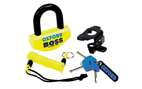 image of Oxford Boss Yellow Disc Lock