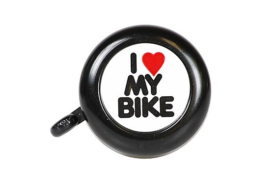 Halfords 'I Love my Bike' Bell