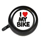 image of Halfords I Love my Bike Bell 2016