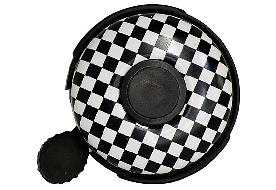 Halfords Chequered Flag Bike Bell