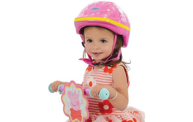 Peppa Pig Kids Bike Helmet 48 52cm