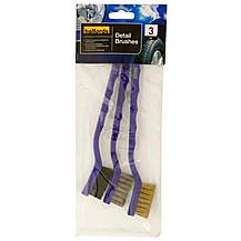 image of Halfords Detail Brushes Pack of 3