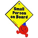 image of Mr Men Small Person On Board Sign