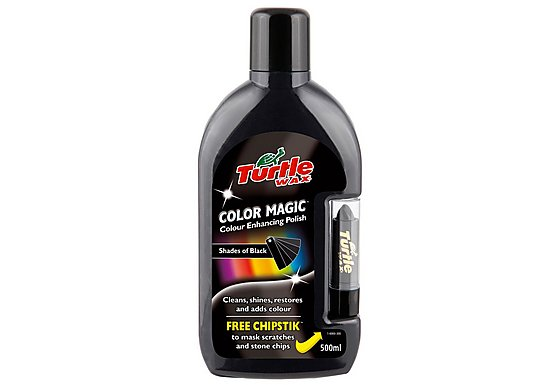 Turtle Wax Color Magic 'Plus' - Black 500ml
