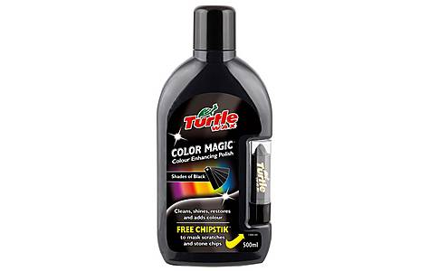 image of Turtle Wax Color Magic Plus - Black 500ml