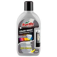 image of Turtle Wax Color Magic 'Plus' Car Wax Polish- Silver 500ml
