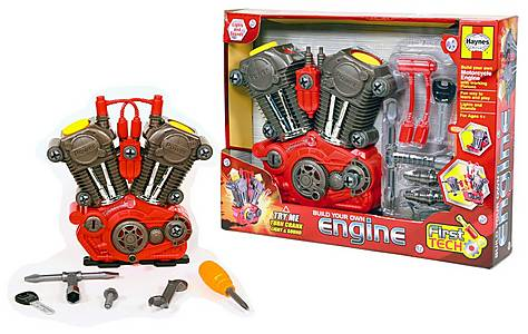 image of Haynes First Tech Build Your Own Engine