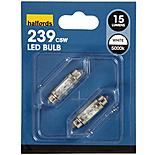Prism LED Festoon Bulb 'White'