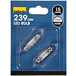 image of Halfords LED 239W Replacement Bulb