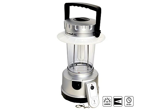 Halfords Rechargeable Lantern with Remote