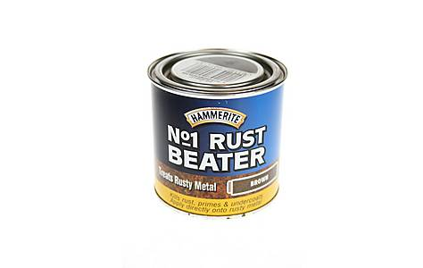 image of Hammerite No1 Rust Beater Brown 250ml