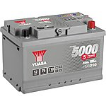 image of Yuasa 12V Silver Car Battery HSB010 - 5 Yr Guarantee
