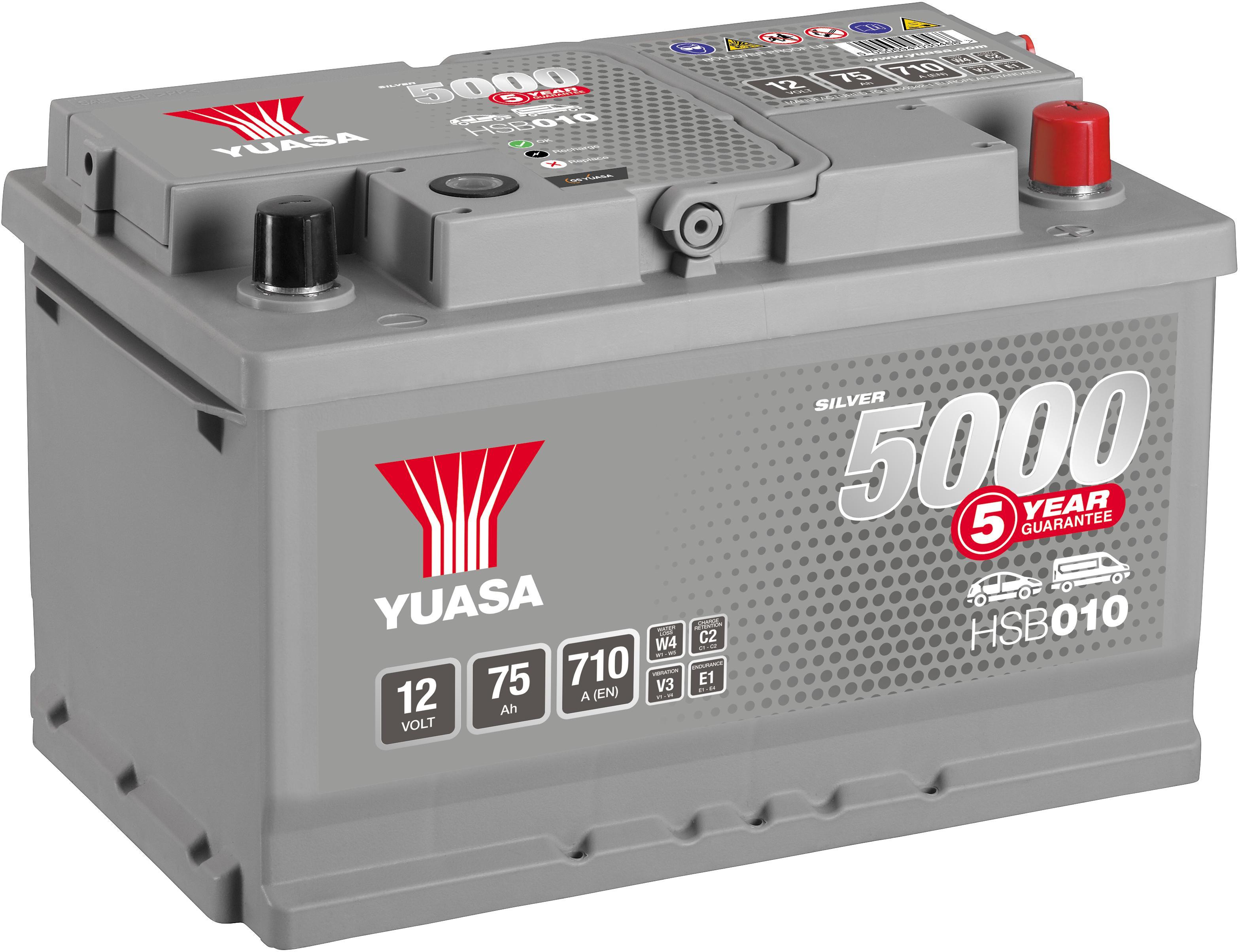 335 Titanium Car Battery 12V 91Ah - Kia Sportage, Mazda 3, 5, 6, Mitsubishi L200