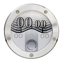 image of Richbrook Tax Disc Holder - Silver
