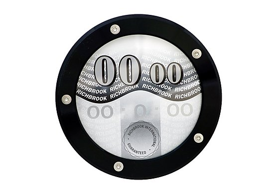 Richbrook Tax Disc Holder - Black