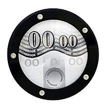 image of Richbrook Tax Disc Holder - Black