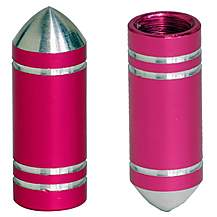 image of CRE8 Valve Caps - Pink