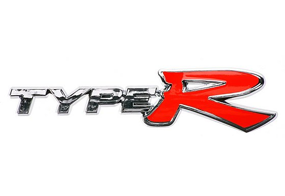 Type R Chrome Badge