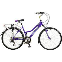 Falcon Voyager Womens Hybrid Bike - 17